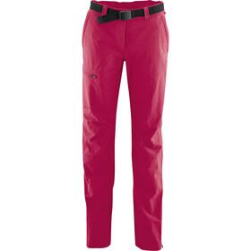 Maier Sports Inara Slim Pantaloni Donna, rosso